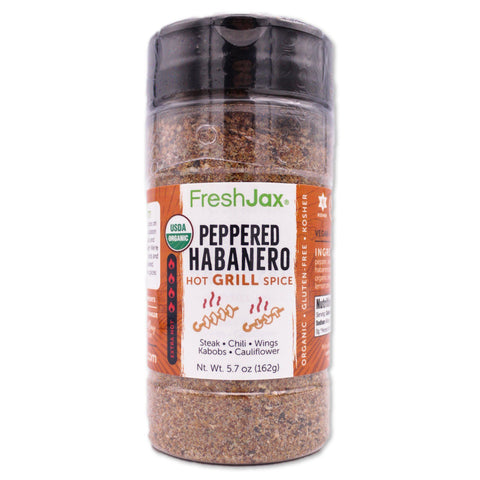 Peppered Habanero: Organic Hot Grill Spice
