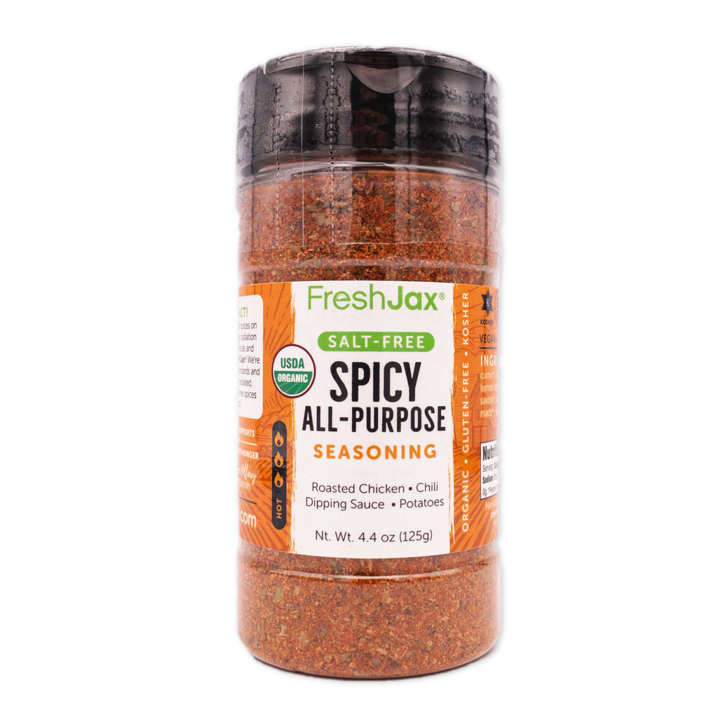 FreshJax Organic Spices Spicy All-Purpose: Organic Salt-Free Spice