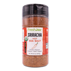 FreshJax Organic Spices Sriracha: Organic HOT Sea Salt