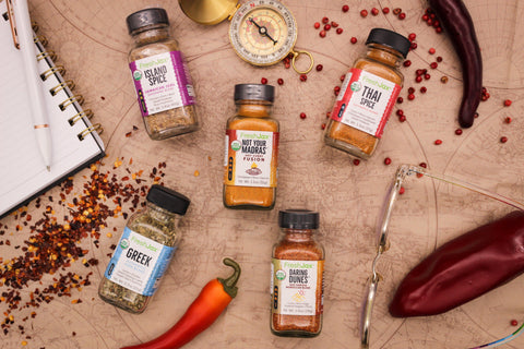 Taste the World Organic Spice Sampler Gift Set: The International Culinary Chef's Seasoning Collection