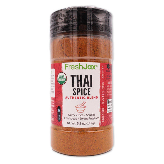 FreshJax Organic Spices Thai Spice: Organic Authentic Blend