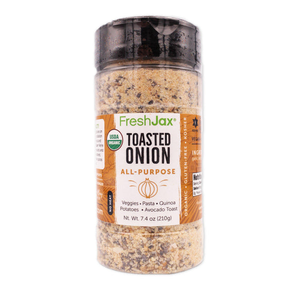 FreshJax Organic Spices Toasted Onion: Organic All-Purpose Spice