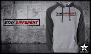 Stay Different Raglan Hoodie