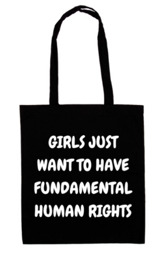 Girls Just Want To Have... tote bag