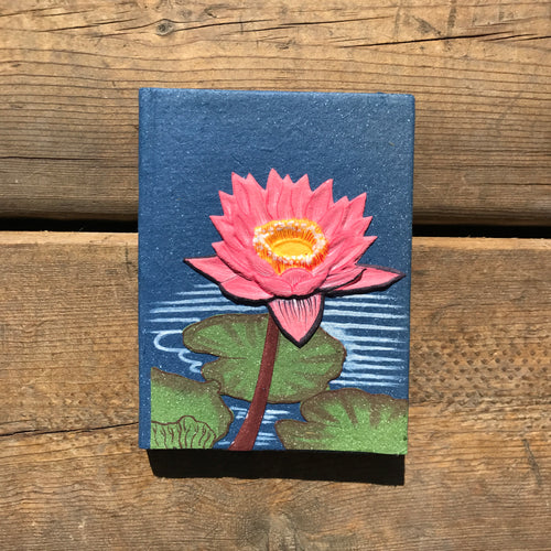 Small Blue Lotus Flower