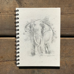 Elephant Sketch Notebook