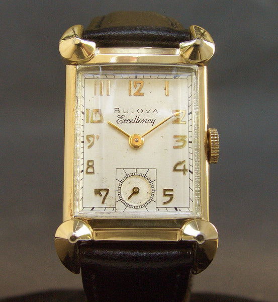 1949 BULOVA USA 'His Excellency NN' Gents Dress Watch