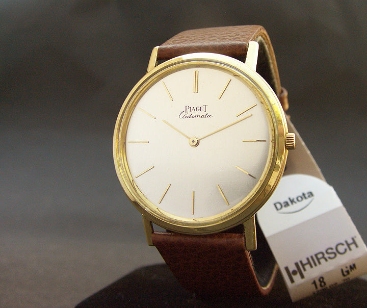 60s PIAGET Gents 18K Slim Micro-Rotor Automatic Watch 12303