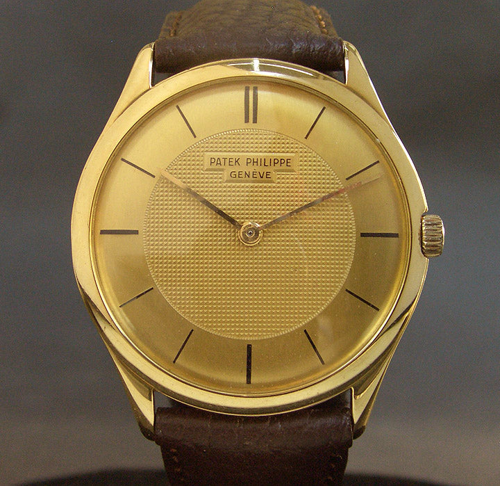 1951 PATEK PHILIPPE Ref. 2507 Vintage Gents 18K Gold Watch