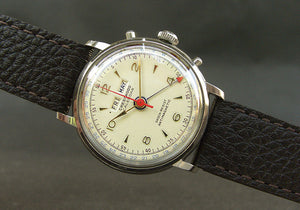 50s CRESTWOOD Gents Triple Calendar Vintage Watch