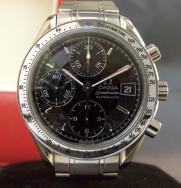 90s OMEGA Speedmaster Automatic Chronograph Watch 175.0083