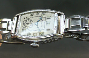 1930 BULOVA 'Lone Eagle' Gents Art Deco Watch