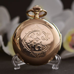 1910s HAAS NEVEUX & Co. Minute Repeater 14K Gold Swiss Pocket Watch