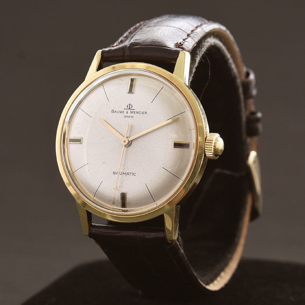 60s BAUME&MERCIER Baumatic Swiss Gents Vintage Watch
