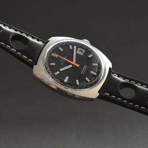 60s GLYCINE Compressor Automatic Date Vintage Swiss Watch