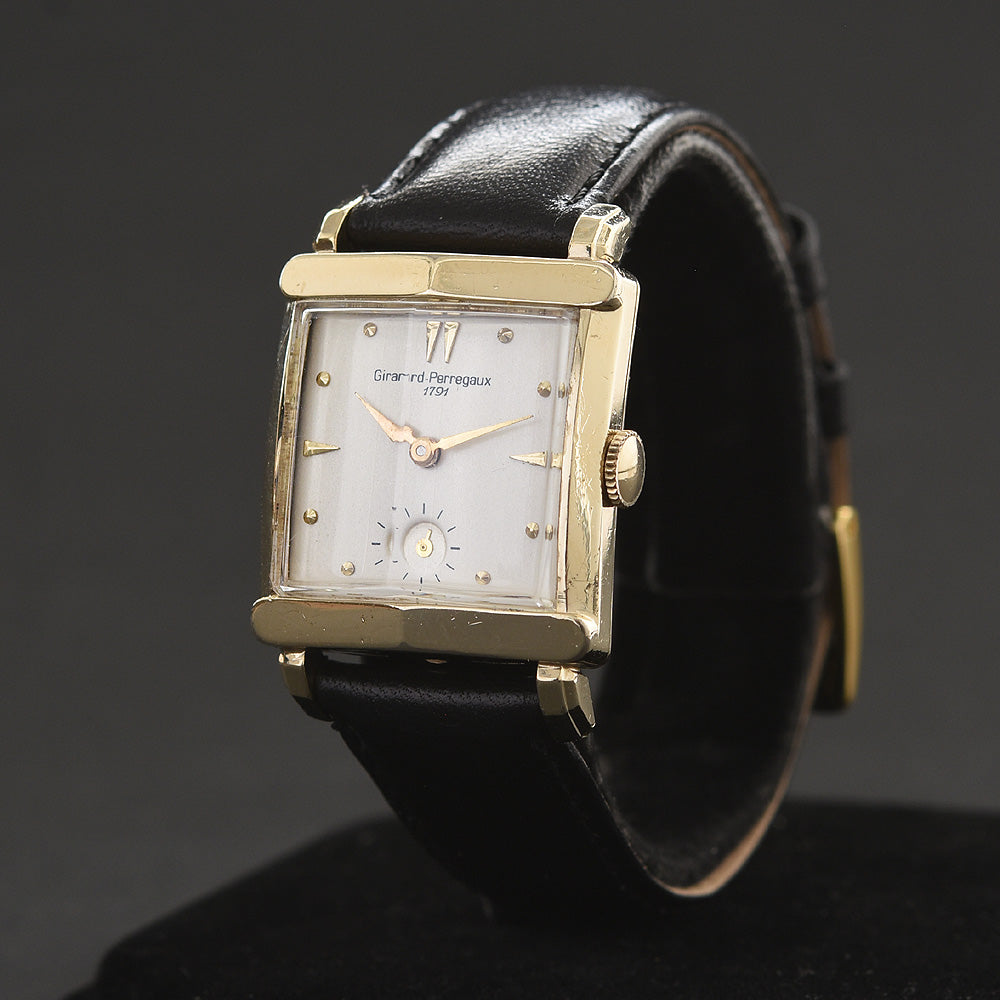 40s GIRARD-PERREGAUX 1791 Gents Vintage Dress Watch