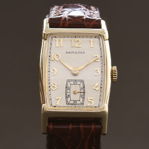 1954 HAMILTON USA 'Turner' 10K Gold Gents Dress Watch