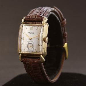 1947 GRUEN Curvex 'Captain' Gents Dress Watch