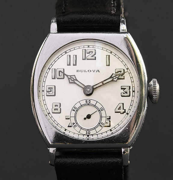 1928 BULOVA 'Spartan' Swiss Gents Art Deco Watch