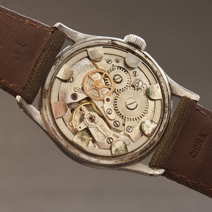 40s BOVET Swiss Gents WW2 Military Style Watch