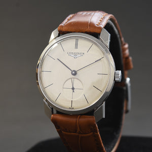1955 LONGINES Gents Vintage Stainless Steel Watch Ref. 1012