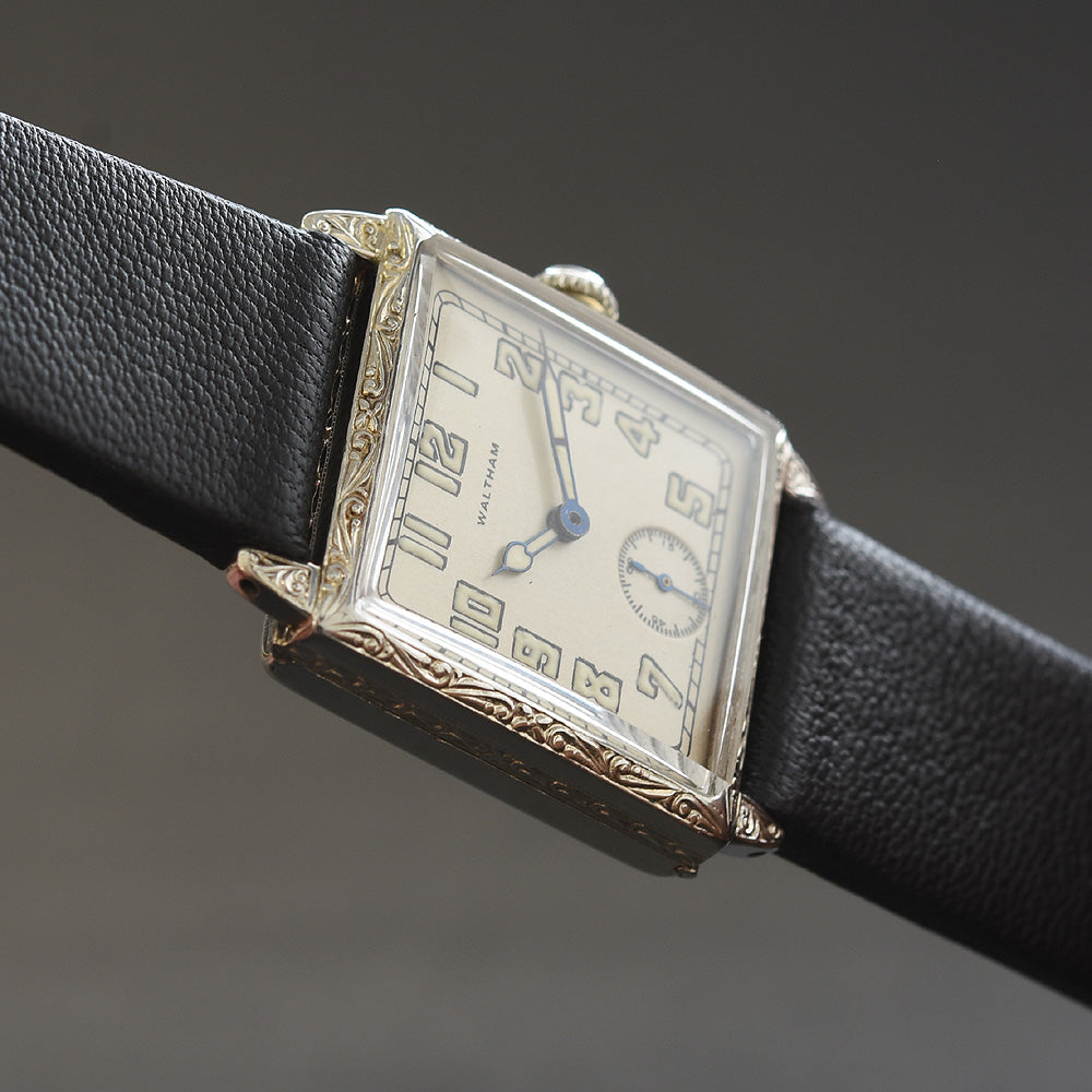 1925 Am. WALTHAM USA Gents Art Deco Dress Watch