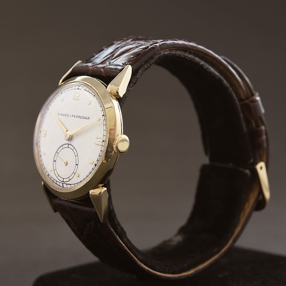 40s GIRARD-PERREGAUX Gents Vintage Dress Watch