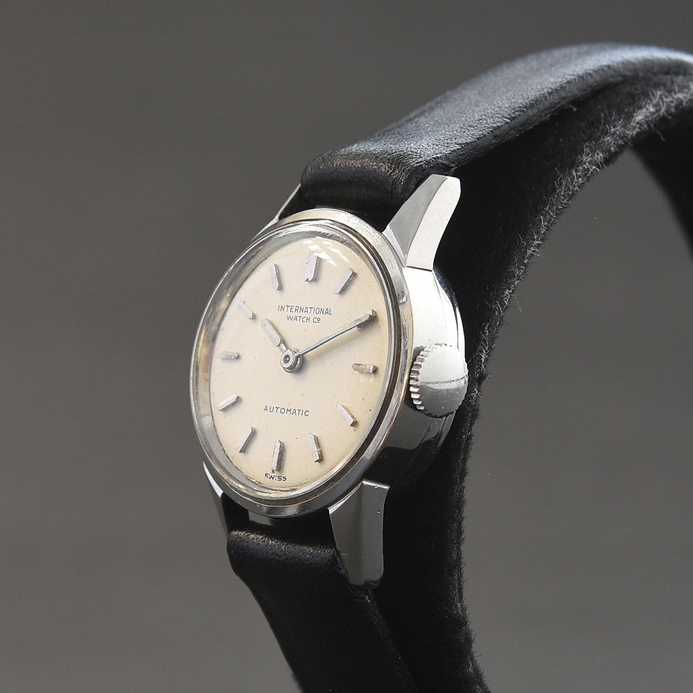 1959 IWC Schaffhausen Automatic Vintage Ladies Steel Watch