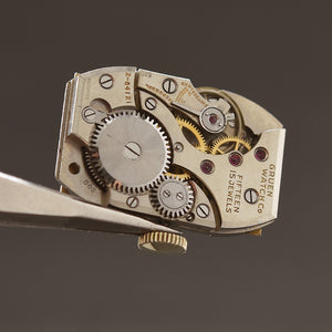 1937 GRUEN Gents Art Deco Dress Watch