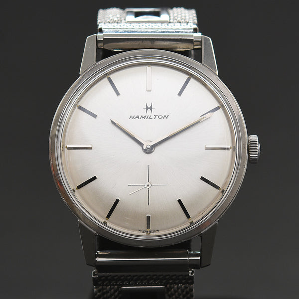 60s HAMILTON  Classic Swiss Vintage Dress Watch