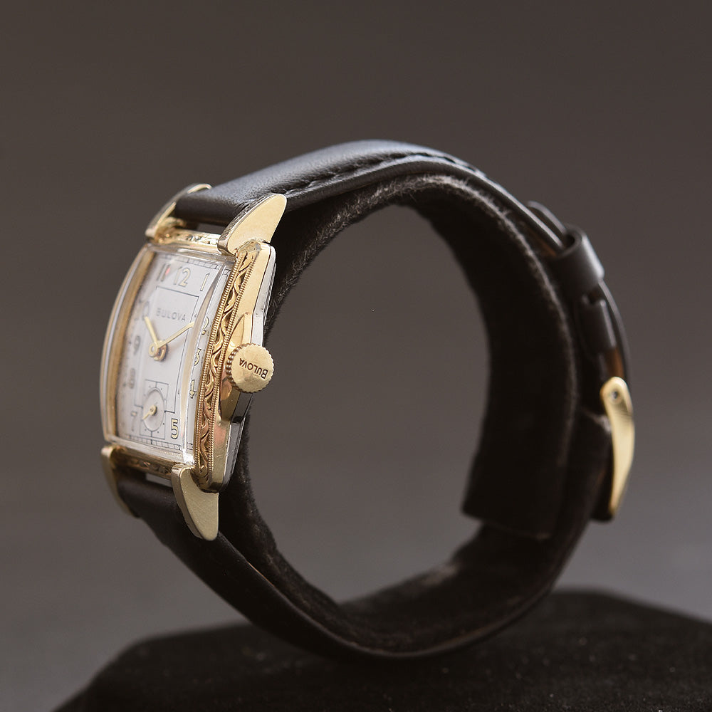 1948 BULOVA 'Treasurer' Vintage Gents Dress Watch
