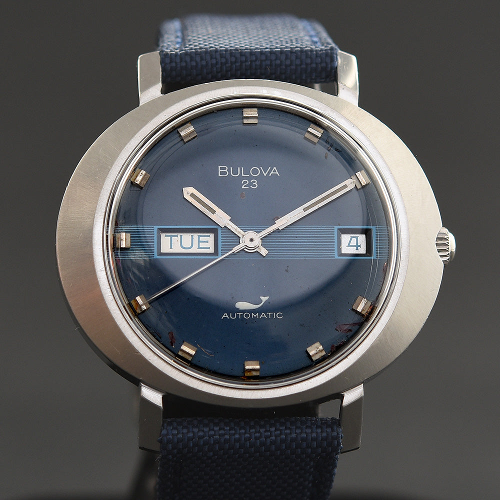 1971 BULOVA 23 'Sea King' Automatic Day/Date Vintage Gents Watch