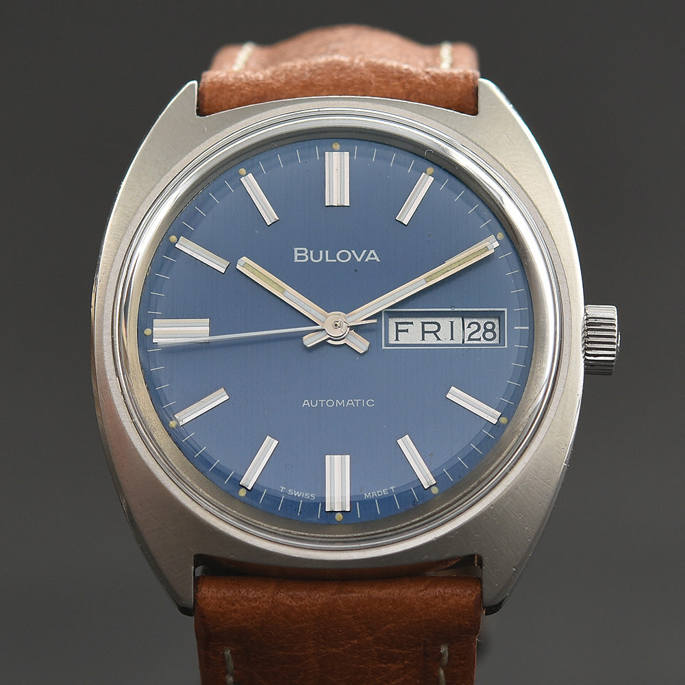 1970 BULOVA 'Genta' Automatic Day/Date Vintage Gents Watch