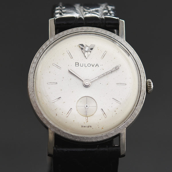 1966 BULOVA 'Diamond Excellency A' Slim Vintage Gents Dress Watch
