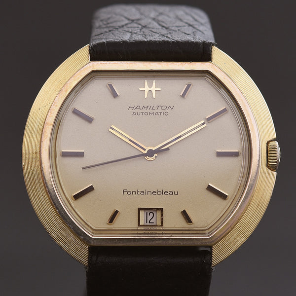 1969 HAMILTON 'Fontainebleau' Gents Automatic Date Vintage Watch