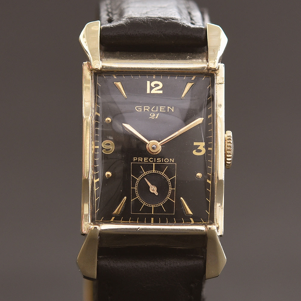 1950 GRUEN USA '21' Precision Gents Dress Watch