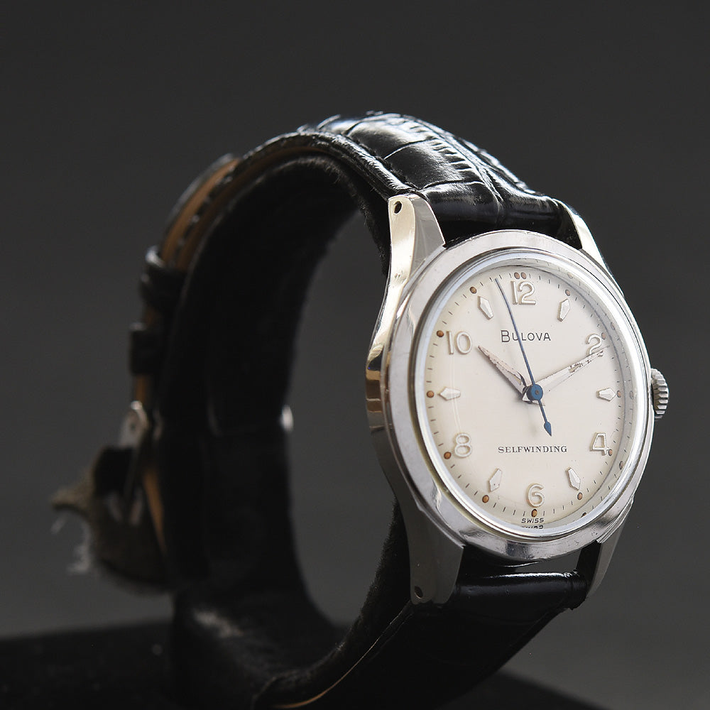 1955 BULOVA Automatic Classic Stainless Steel Gents Watch