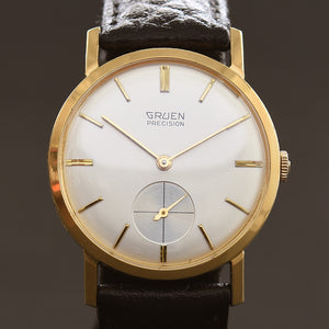 50s GRUEN Precision Gents Dress Watch 510-183
