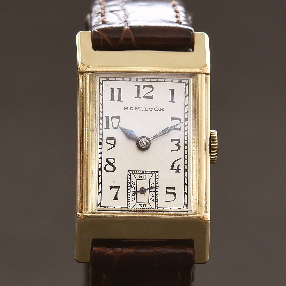 1935 HAMILTON USA 'Bartley' Gents Dress Watch