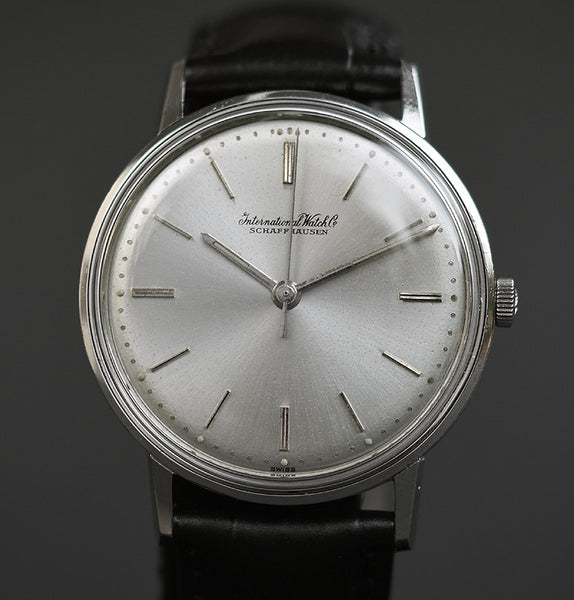 1961 IWC Schaffhausen Vintage Gents Steel Watch Ref. 1214