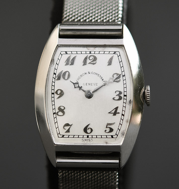 1931 VACHERON&CONSTANTIN Gents Platinum Art Deco Watch