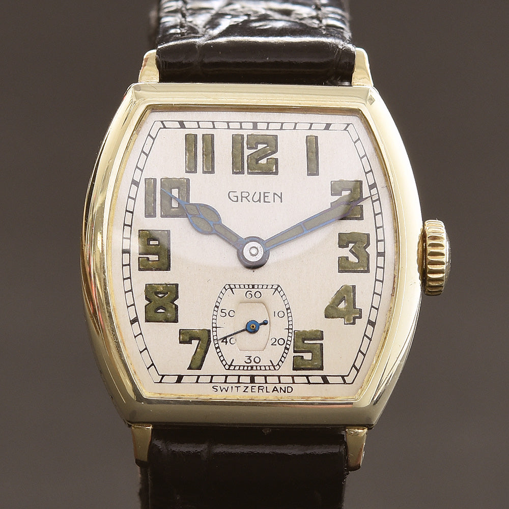1927 GRUEN Guild Gents Art Deco Watch