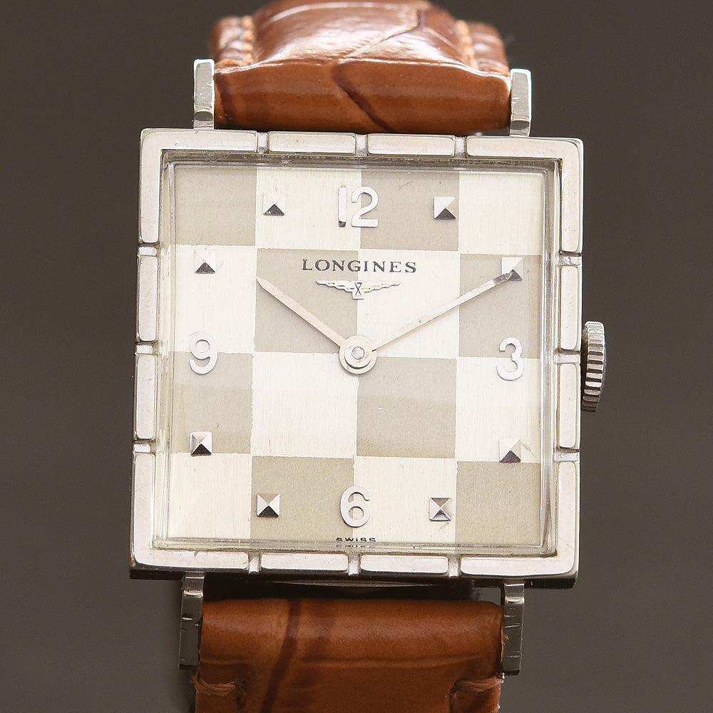 1957 LONGINES 'Checkers' Gents Vintage Dress Watch