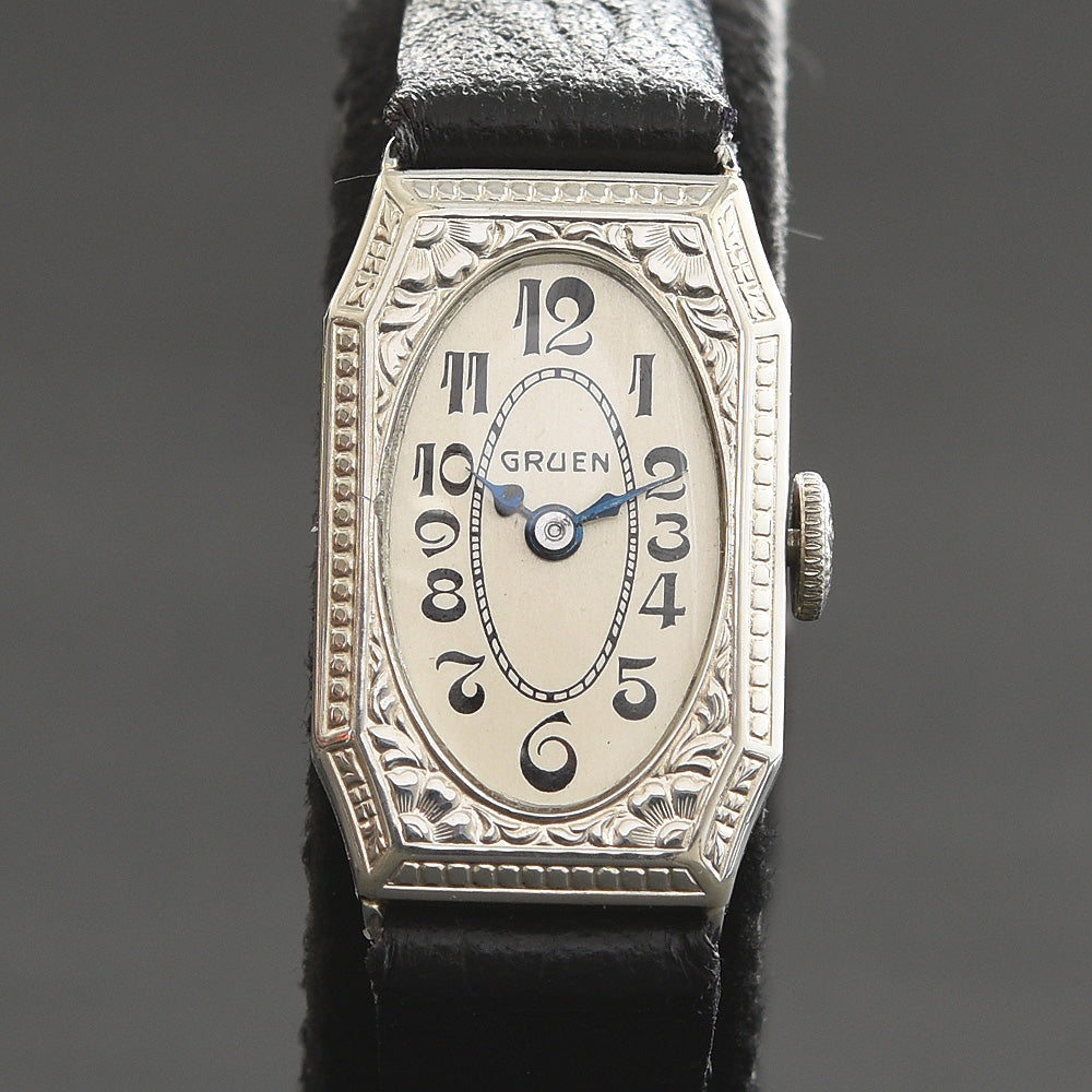 20s GRUEN 'Cartouche' Ladies Art Deco Watch