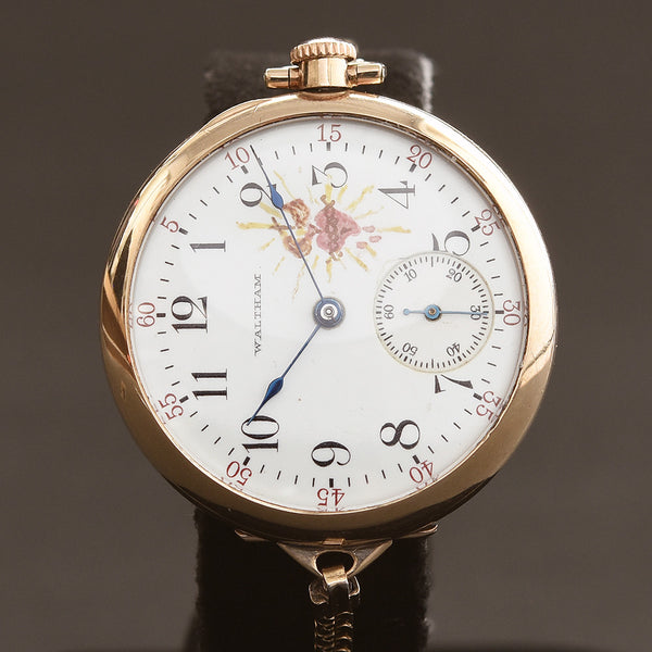 1908 WALTHAM USA Ladies Convertible Wrist Watch