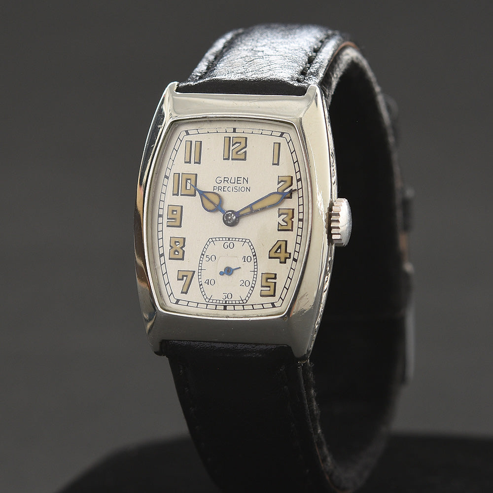 1929 GRUEN Precision Guild Gents Art Deco Watch