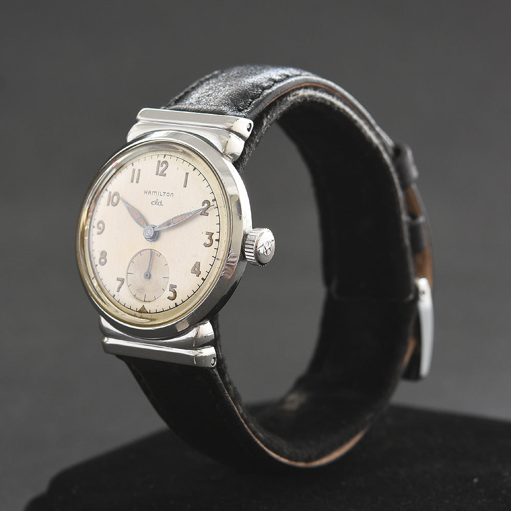 1951 HAMILTON USA 'Vardon' Gents Stainless Steel Watch