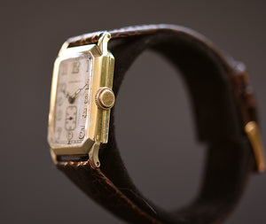 1930 LONGINES Gents Art Deco Vintage Dress Watch