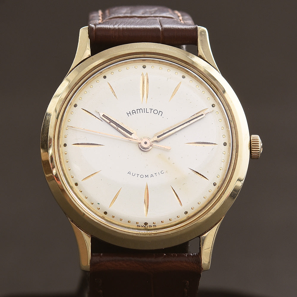 1960 HAMILTON Automatic Thin-O-Matic T-450 Micro-rotor Swiss Vintage Watch