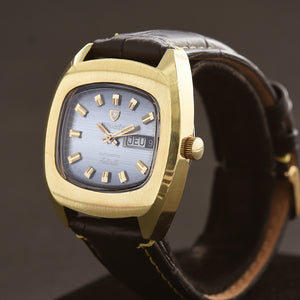 70s NIVADA Antarctic Automatic Day/Date Gents Vintage Watch